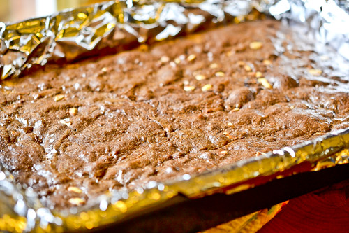 Peanut Butter Fudge Brownies 11
