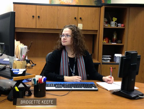 Meet Face (and Hands) of Food Safety Bridgette Keefe-Hodgson USDA