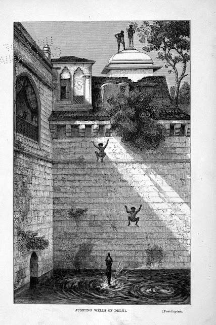 City Monument - Baolis, Step Wells of Delhi