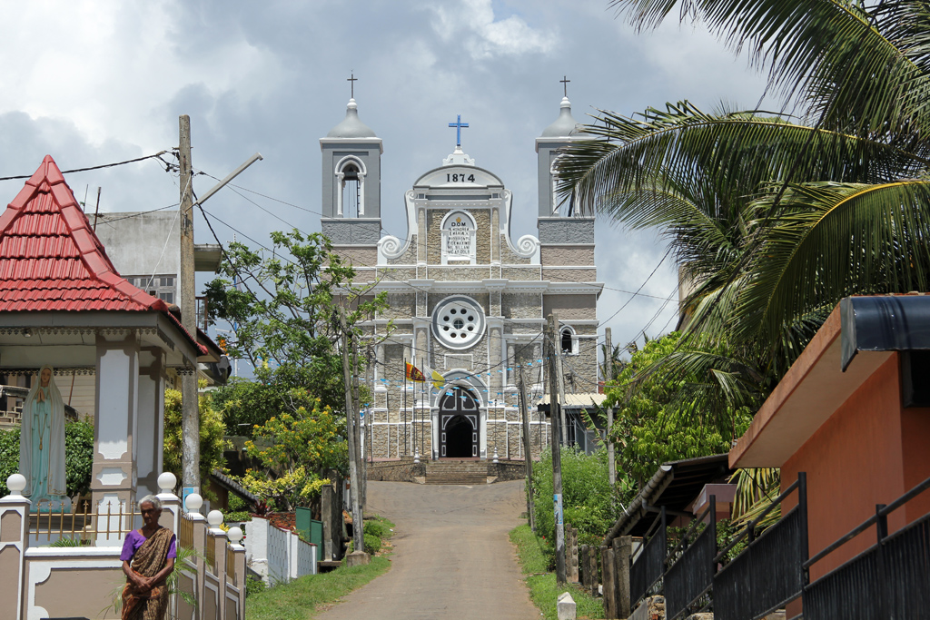 Modern Church in Galle