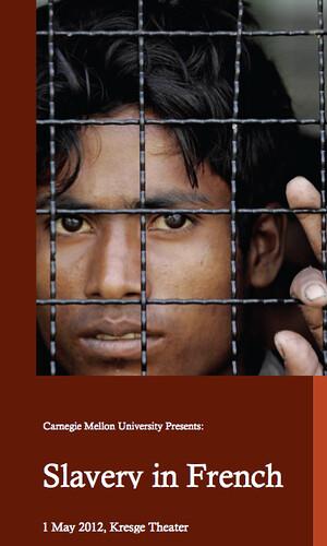 Slavery in French Program Pg 1a