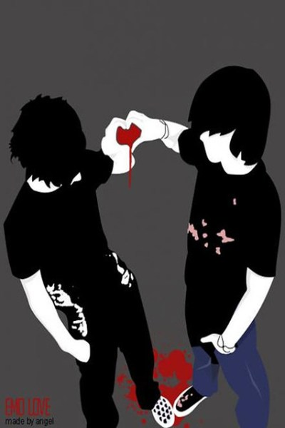 Emo Friendship - Wallpaper 4 Apples iPhone 4 and iPhone 4S | Flickr - Photo Sharing!