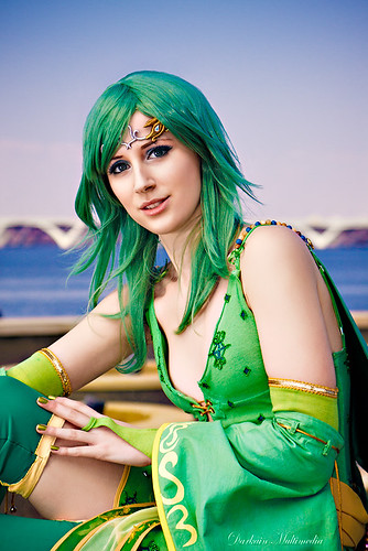 Final Fantasy IV Rydia of the Mist Cosplay