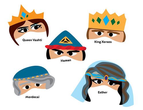 Free Purim Face Mask Printables Alpha Mom
