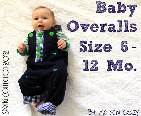 Overalls Were One Of The Very First Items I Created Almost 2 Months Sewing Pattern Overalls