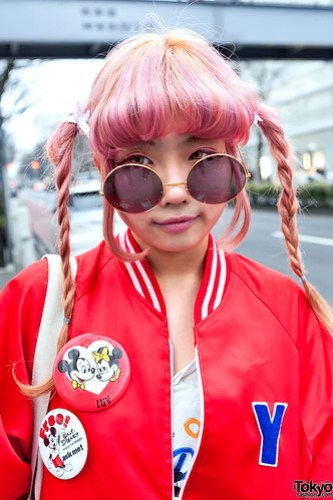 Pink Hair, Harajuku