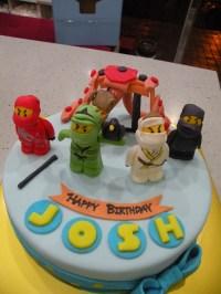 Kinder Torten: Ninjago Kuchen