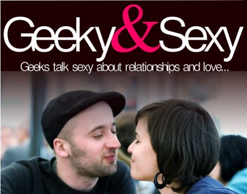 geeky and sexy logo...