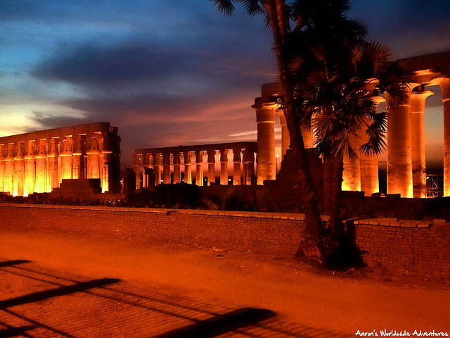 Luxor Temple at Sunset