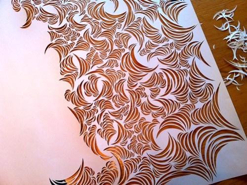 Work-in-progress: paper cut design