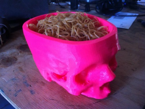 Alas, pink Yorick