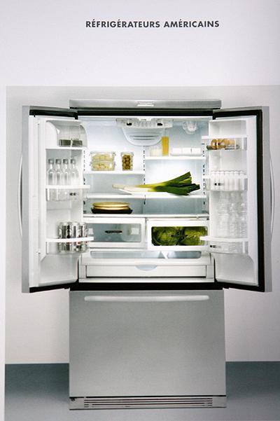 American refrigerator