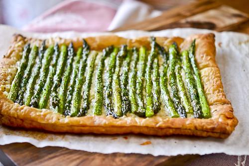 Asparagus & Gruyere Tart 10