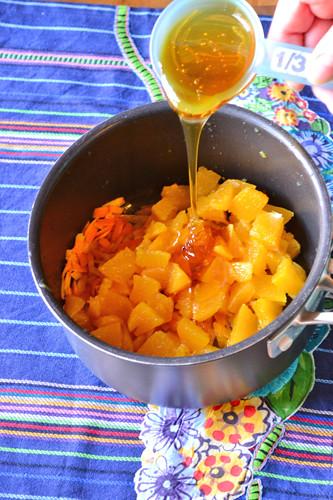 Goat Cheese Crostini with Orange & Black Pepper Marmalade 11