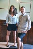 Ben Ernst and Erica Bernardi of Earnest Ice Cream