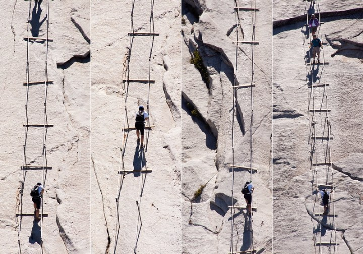 Ascending Half Dome Cables