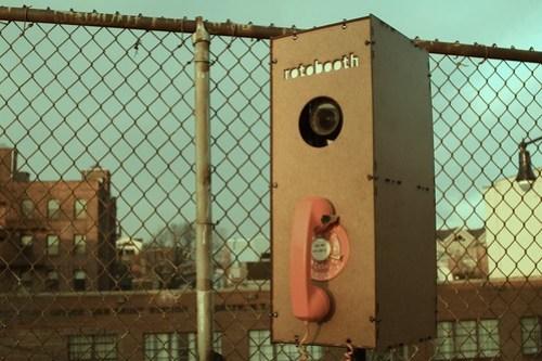 Rotobooth - Fence Oldschool