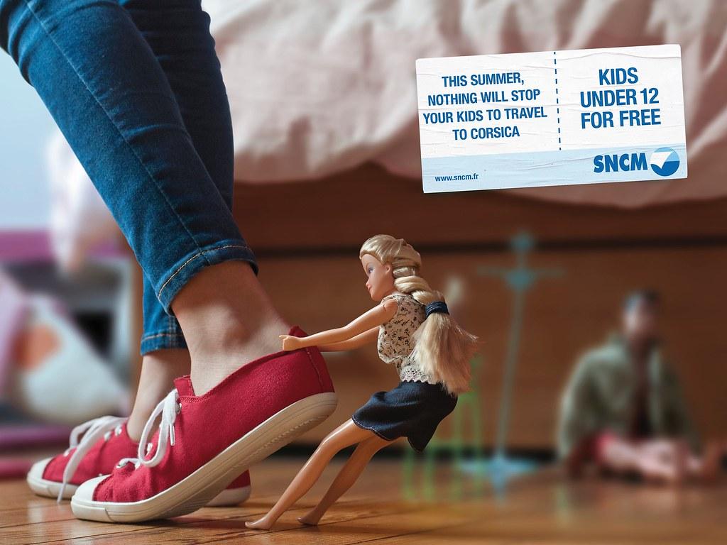 SNCM Travel - Barbie Doll