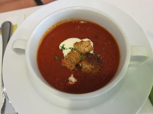 tomato soup @ SLICE