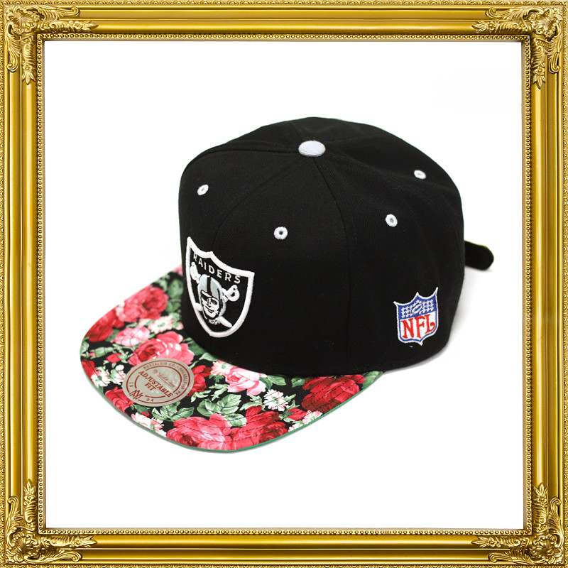 The Genesis Project Oakland Raiders Hat From The Floral Collection