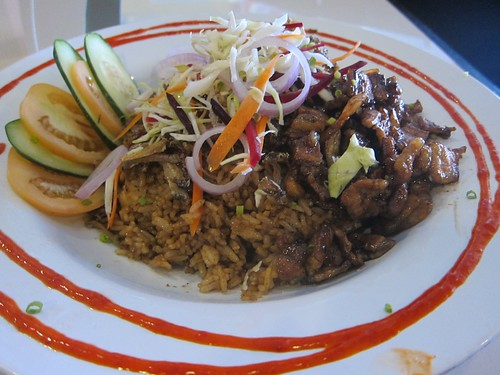 Bagoong fried rice @ Asian Noodle Co.