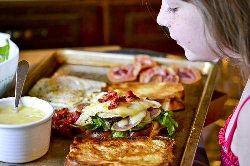 Fancy Egg Sanwiches