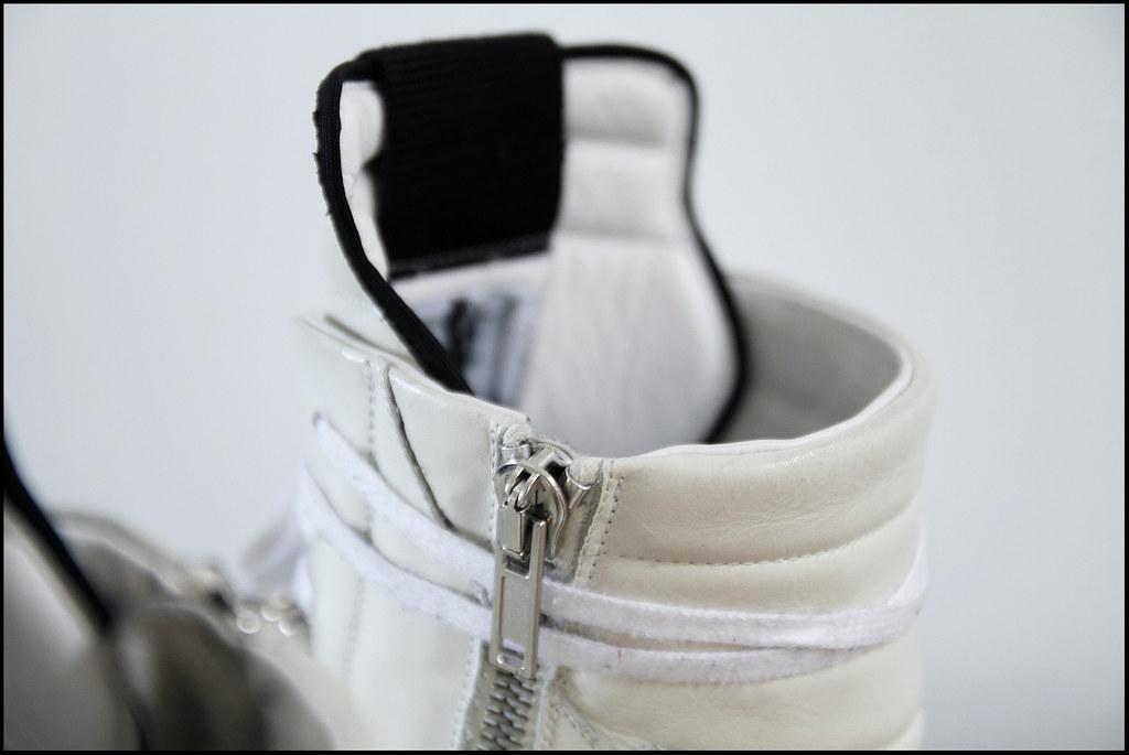 Tuukka13 - Sneak Preview - My New Rick Owens High Top Sneakers in White - 4