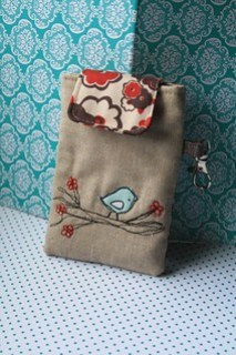 Blossom Birdy i pouch
