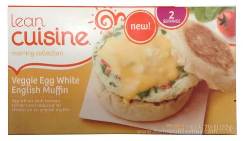 Lean Cuisine Morning Collection Veggie Egg White English Muffin
