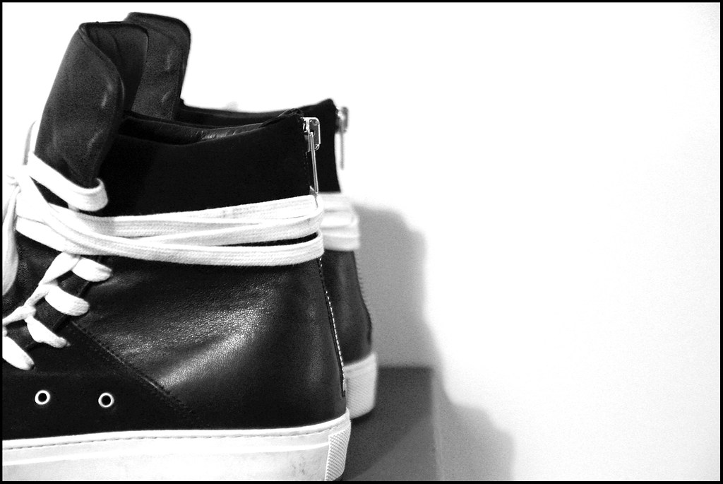 Tuukka13 - Sneak(er) Preview - My New Kris Van Assche High Top Sneakers x2 - Surgery and Hidden Laces - 2