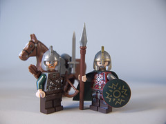 Eomer and the Rohirrim Soldier