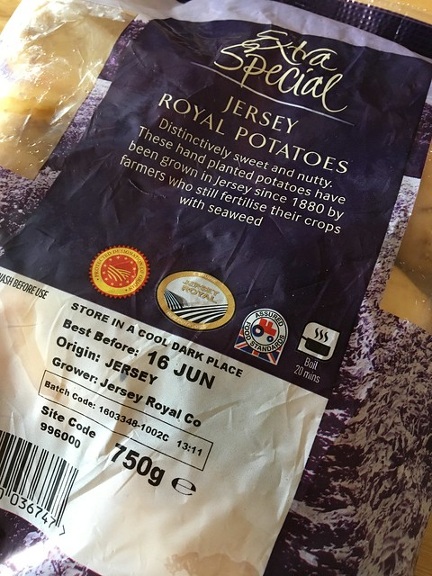 Jersey Royals with Asda