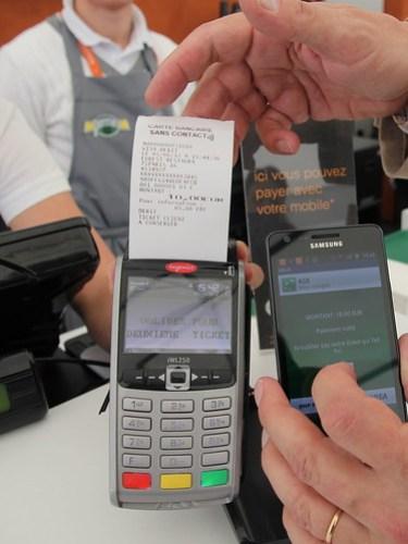 Paiement mobile sans contact à Roland Garros