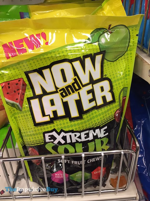 Now and Later Extreme Sour Soft Fruit Chews