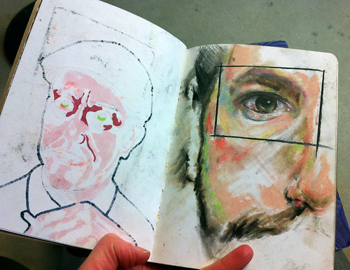 A visit to the 2012 Sketchbook Project show in Vancouver-8