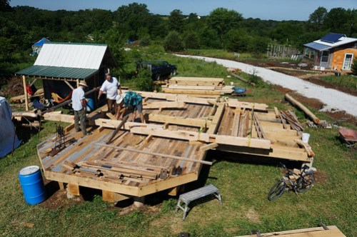 Timber Frame Assembly