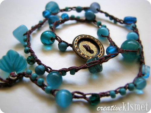 Beaded Crocheted Bracelet Video Tutorial Regina Lord Of