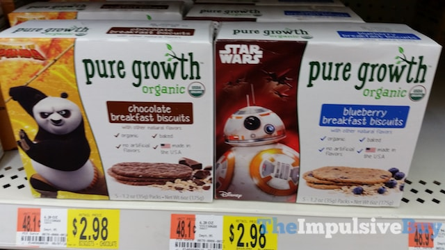 Pure Growth Chocolate and Blueberry Breakfast Biscuits