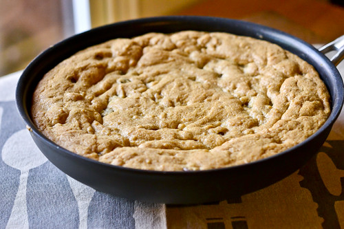 Skillet Chocolate Chip Cookie 10
