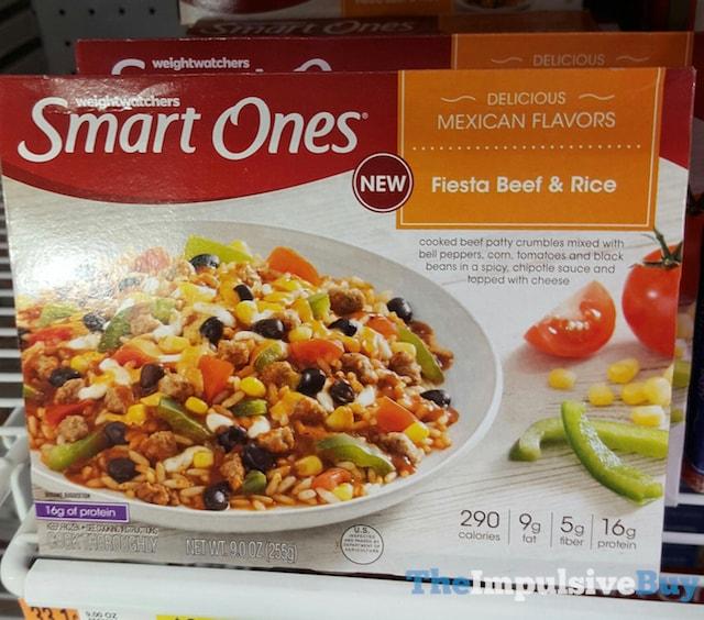 Weight Watchers Smart Ones Fiesta Beef & Rice