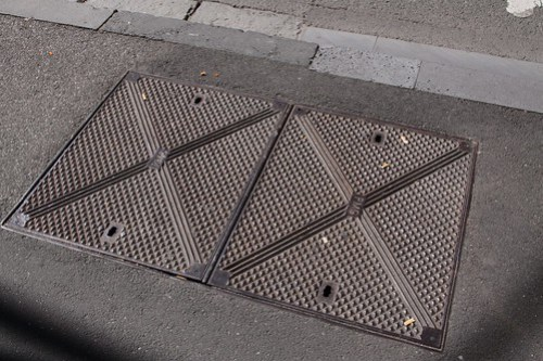 Postmaster-General's Department manhole covers