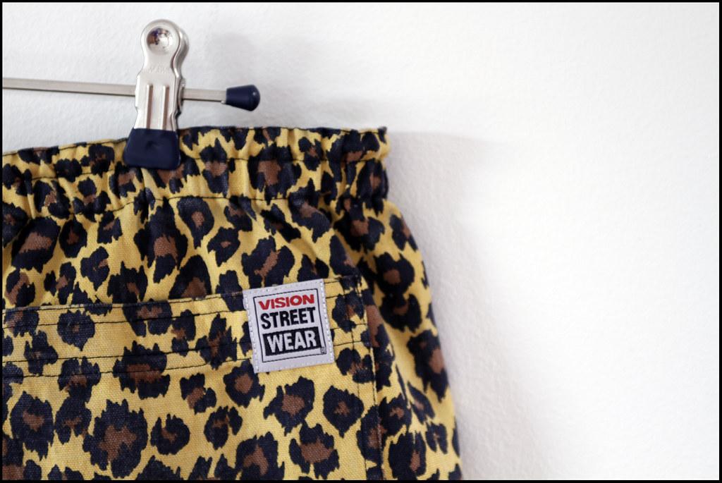 Tuukka13 - New Shorts x2 - Chloe Sevigny for Opening Ceremony x Vision Street Wear - Leopard Cuff Short - 5