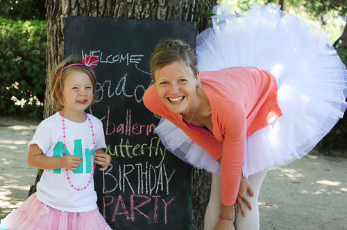 Nora Lea's fourth birthday