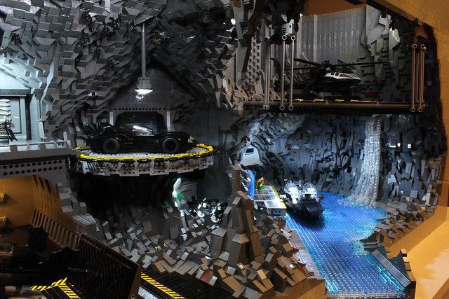 8074995242 7bb5a307c3 z The Bat Cave Built From 20,000 Lego Parts