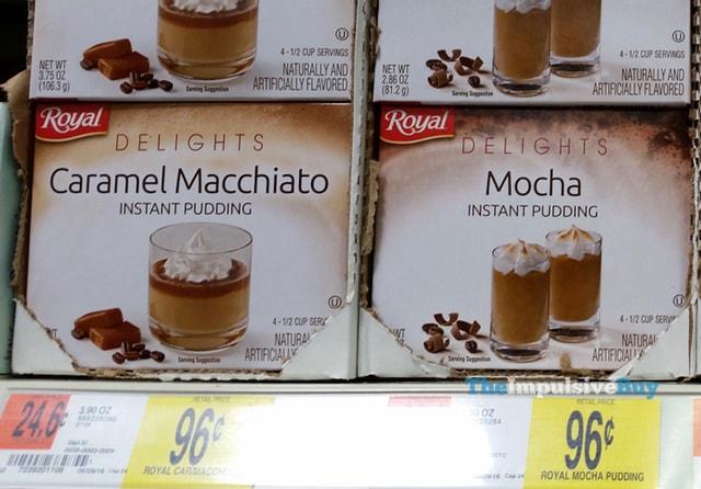 Royal Delights Caramel Macchiato and Mocha Instant Pudding