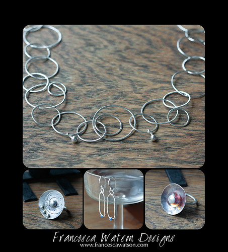 Fine silver and Argentium Silver Jewelry by Francesca Watson Designs