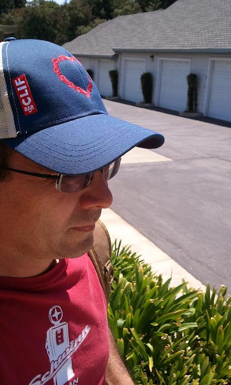 CLIF Bar bike love hat