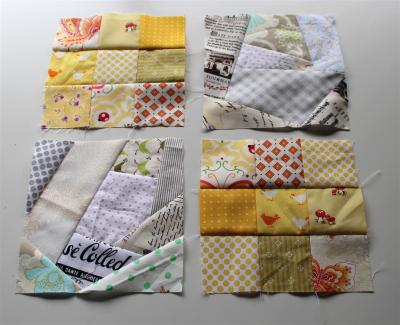 May Sew & Bee-Happy block for Allie