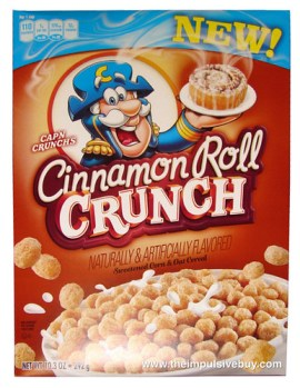 Cap'n Crunch's Cinnamon Roll Crunch