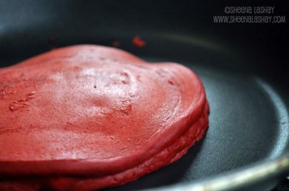 Red Velvet Pankcakes